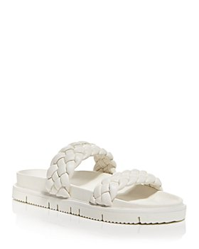 AQUA - Women's Braided Slide Sandals - 100% Exclusive