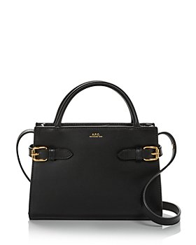 A.P.C. - Sac Farrah Mini Leather Handbag