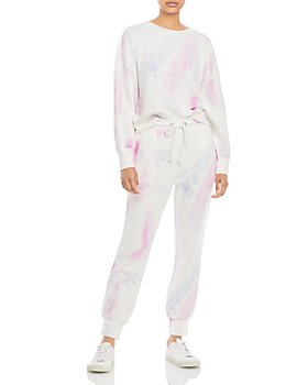 PAIGE - Tie Dyed Sweater & Tie Dyed Sweatpants