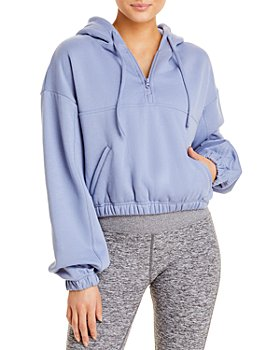Alo Yoga - Stadium Quarter-Zip Hooded Sweatshirt