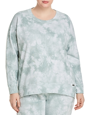 Marc New York Plus Weekend French Terry Tie Dyed Dolman Pullover Sweatshirt