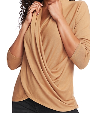 1.state Cross Front Knit Top