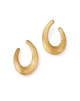 Marco Bicego - 18K Yellow Gold Lucia Medium Hoop Earrings