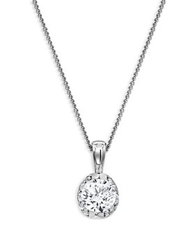 Bloomingdale's - Diamond Pendant Necklace in 14K White Gold, 0.5 ct. t.w. - 100% Exclusive