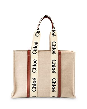 Chloé - Woody Large Canvas Tote