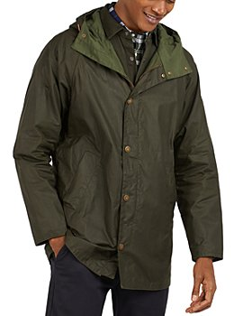 Barbour - Breswell Waxed Cotton Hooded Jacket