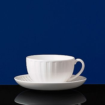 Wedgwood - Night and Day Fluted Teacup