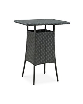 Modway - Sojourn Outdoor Patio Small Rattan Bar Table