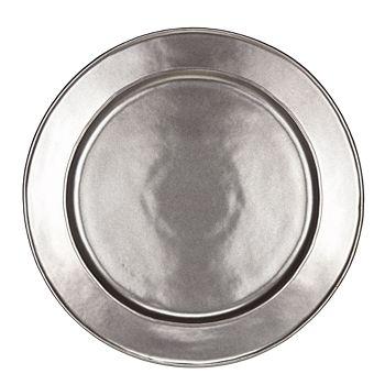 Juliska - Pewter Stoneware Round Charger