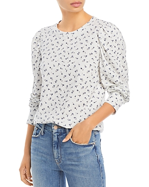 Rails Tops EMILIA FLORAL PRINT COTTON TOP