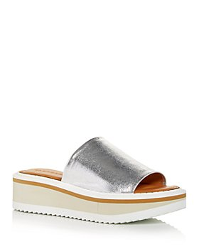 Clergerie - Women's Fasties Wedge Slide Sandals