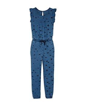 Splendid - Girls' Leo Love Printed Jumpsuit - Little Kid, Big Kid
