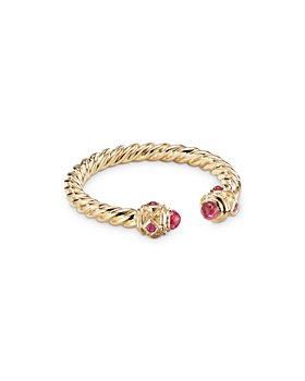 David Yurman - 18K Yellow Gold Renaissance Ruby Ring