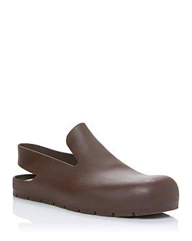 Bottega Veneta - Women's Puddle Rubber Slingback Loafers