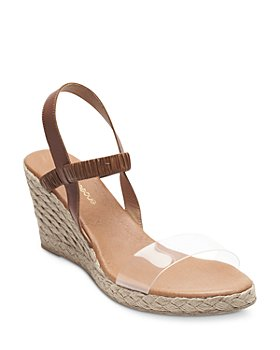 Andre Assous - Women's Alberta Slip On Slingback Wedge Sandals