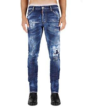 DSQUARED2 - Skater Slim Fit Jeans in Blue