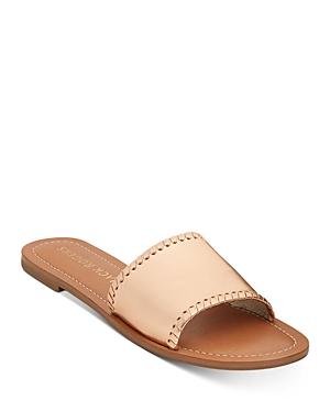 Women's Sofia Leather Slide Sandals