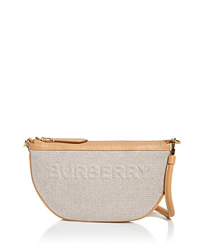 Burberry - Olympia Canvas Pouch Shoulder Bag