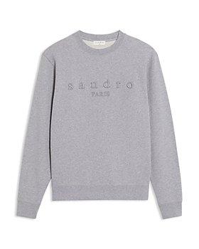 Sandro - Gray Logo Sweatshirt