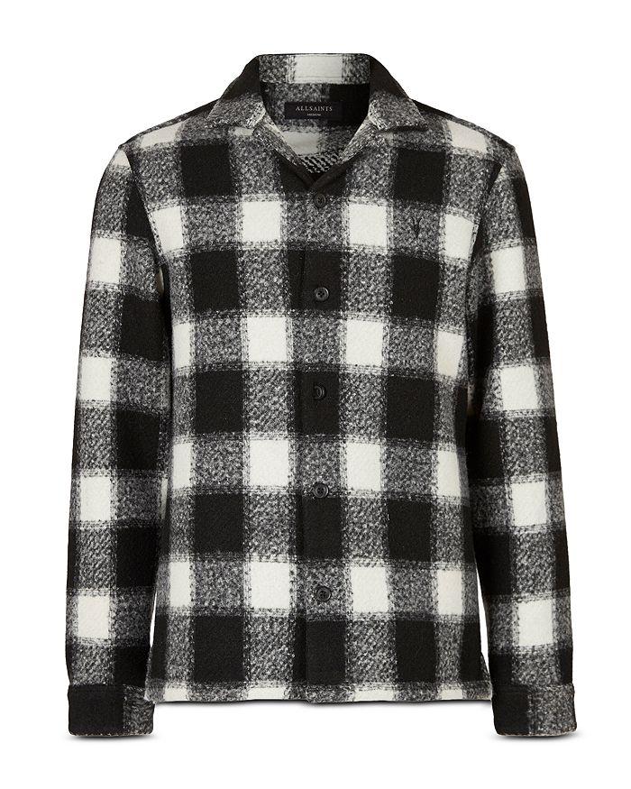 Allsaints Shirts OBERLIN BUFFALO PLAID SHIRT