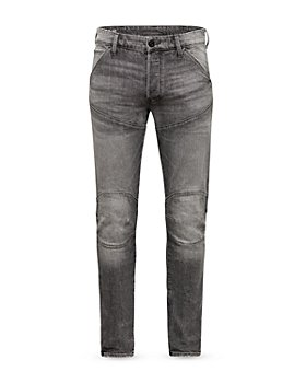 G-STAR RAW - 3D Slim Fit Moto Jeans in Faded Anchor