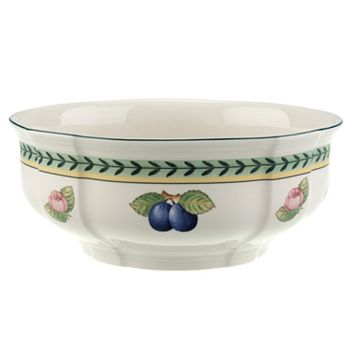 "Villeroy & Boch - ""French Garden"" Fleurence Round Vegetable Bowl"