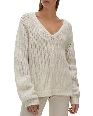 Helmut Lang V Neck Sweater
