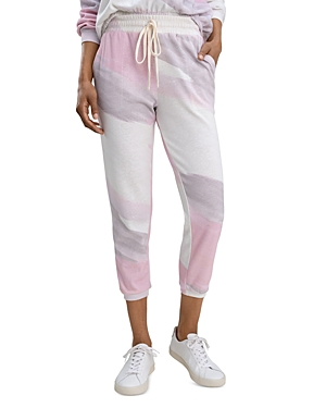 Splendid SUNWASH PRINTED JOGGER PANTS
