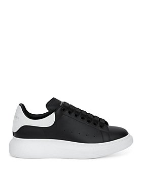 Alexander McQUEEN - Men's Oversized Leather Heel Detail Sneakers