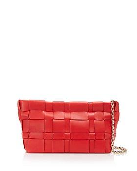 3.1 Phillip Lim - Odita Lattice Leather Pouch