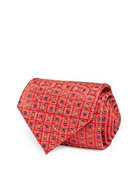 Ermenegildo Zegna - Square Medallion Silk Classic Tie