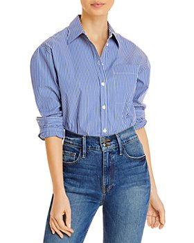 LINI - Amira Striped Menswear Shirting Bodysuit - 100% Exclusive