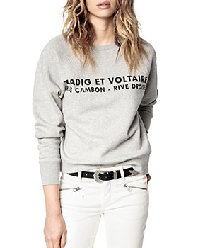 Zadig & Voltaire - ZV Address Print Sweatshirt