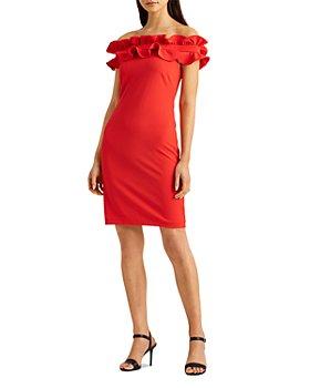 Ralph Lauren - Ruffled Cocktail Dress