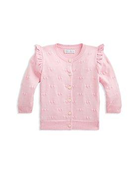 Ralph Lauren - Girls' Heart Cotton Cardigan - Baby