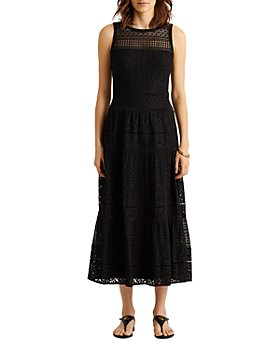 Ralph Lauren - Lace Fit and Flare Maxi Dress - 100% Exclusive
