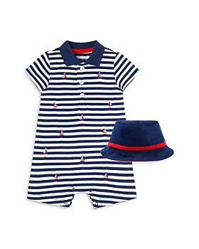 Little Me - Boys' Sailboat Romper & Hat Set - Baby