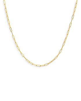 Zoe Lev - 14K Yellow Gold Chain Necklace, 18""