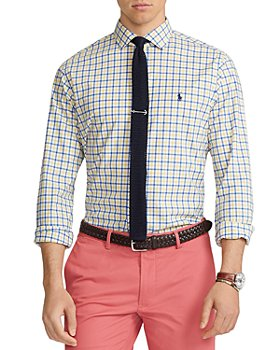 Polo Ralph Lauren - Slim Fit Plaid Poplin Button Down Shirt