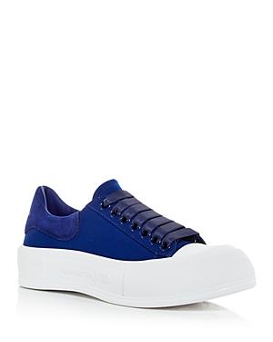 Alexander McQUEEN Women's Deck Plimsoll Low Top Sneakers