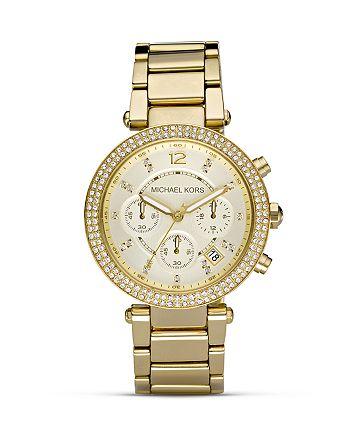 Michael Kors - Parker Pavé Chronograph Bracelet Watch, 39mm