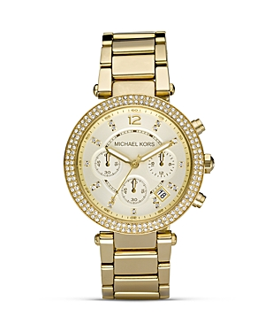 Michael Kors Pave Parker Watch, 39mm