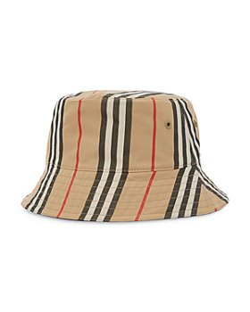 Burberry - Reversible Icon Stripe Cotton Bucket Hat