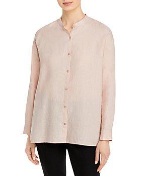 Eileen Fisher - Mandarin Collar Shirt