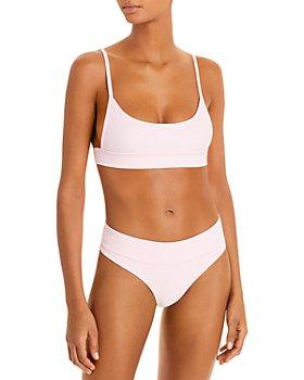 Frankies Bikinis - Gavin Ribbed Bikini Top & Gavin Ribbed Bikini Bottom