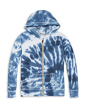 Vintage Havana - Boys' Tie Dye Zip Hoodie - Little Kid, Big Kid