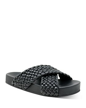 Charles David - Women's Defend Woven Leather Sandals