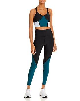 AQUA - Color-Block Sports Bra & Leggings - 100% Exclusive