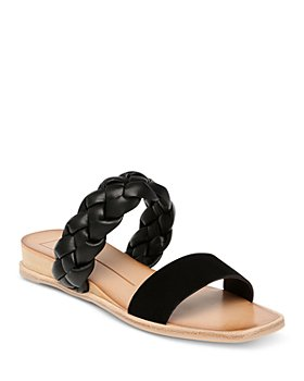 Dolce Vita - Women's Persey Square Toe Braided Strap Wedge Sandals