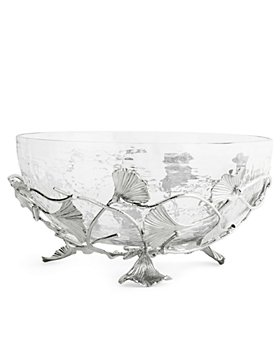 Michael Aram - Ginkgo Medium Glass Bowl - 100% Exclusive